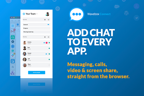 Chat, call, video conference and screen-share from your browser