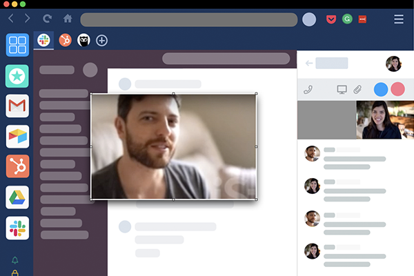 enjoy picture-in-picture calls in Slack