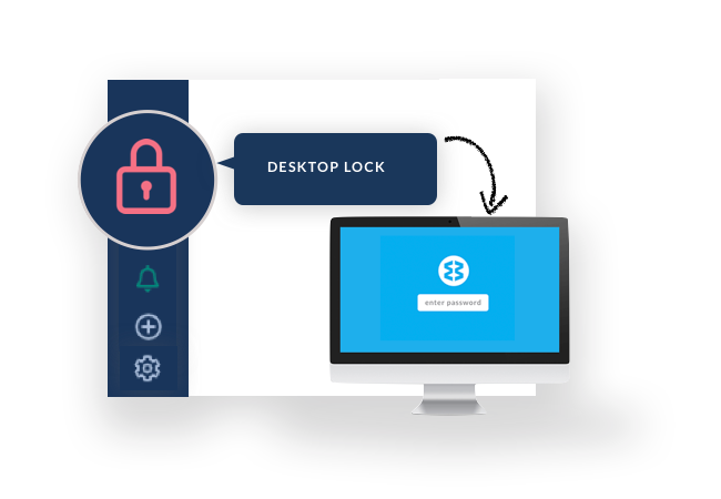 desktop lock for all your web apps